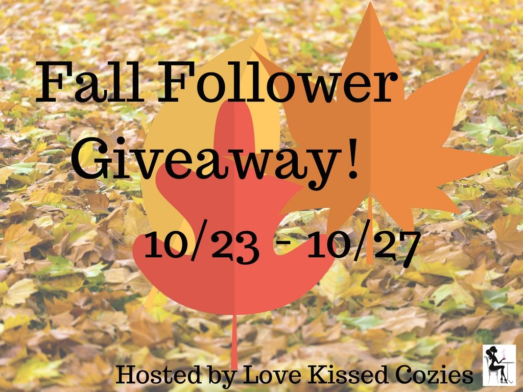 Fall Bookbub Giveaway for Cozy Mystery Readers