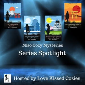 Read the Miso Cozy Mystery Series by S. J. Pajonas